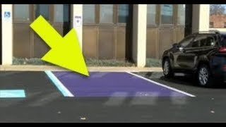 Here s What To Know About Seeing A Parking Spot Painted Purple