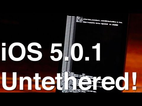 How to Untether Jailbreak iOS 5.0.1 With RedSn0w