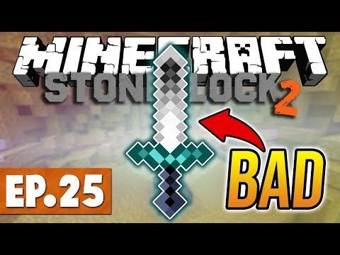 Minecraft StoneBlock 2 - NOOBS ATTEMPT TO FIGHT CHAOS