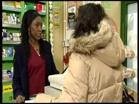 Chip & Pin Card Machine Guest Appearance on EastEnders (Minute Mart)