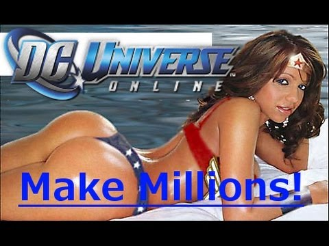 DCUO | How to Make Millions At Any Level (DC Universe Online)