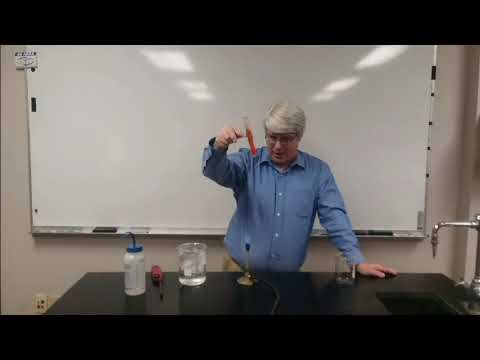 Effect of temperature on the solubility of a solid