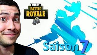 LA SAISON 7 DE FORTNITE EST ARRIVÉE