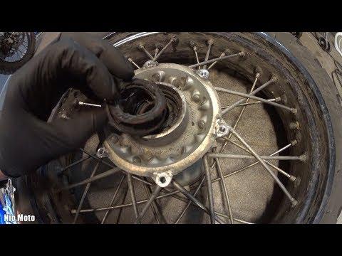 Brakes and wheel bearings (rear) 1/2 * Service