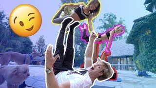 HOT COUPLES YOGA CHALLENGE!!!