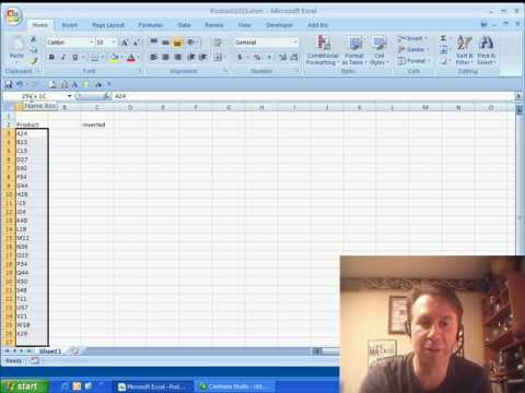 Mr Excel & excelisfun Trick 10: Turn Column / Row Upside Dow