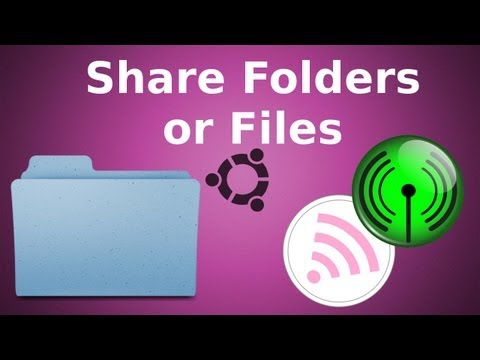 Share Files via Network - Ubuntu Linux