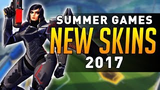 Overwatch Summer Games 2017 Skins Datamined