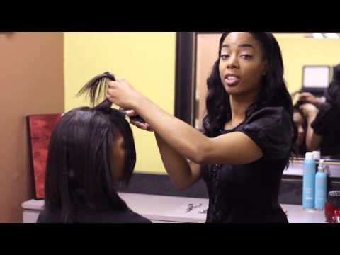 Diagonal Bang Styles for Long Hair : Bangs & Styling Hair