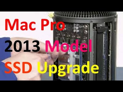 How to Upgrade the SSD in a Mac Pro 2013 Cylinder Model