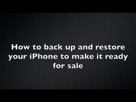 DrPhoneFix - How to prepare your iPhone for sale