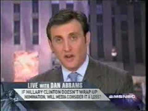 DAN ABRAMS - THE MEDIA IS SELLING US BARACK OBAMA