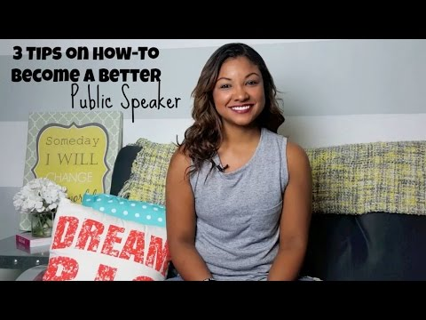 3 Tips On How-To Become A Better Speaker- Public Speaking
