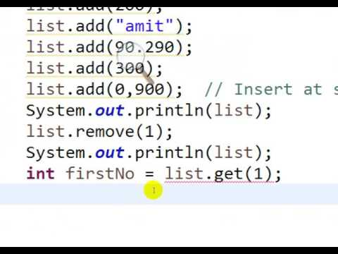 Using ArrayList in Java Collection