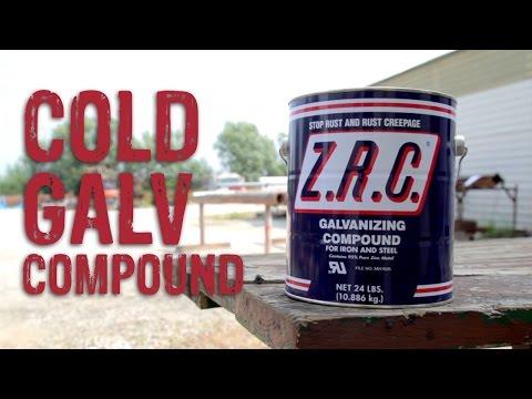 Cold Galvanizing Compound Comparison - GME Supply