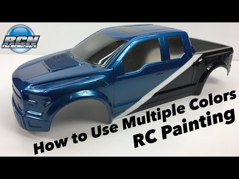 How to Paint your RC Body with Multiple Colors - Pactra Paint Series EP4