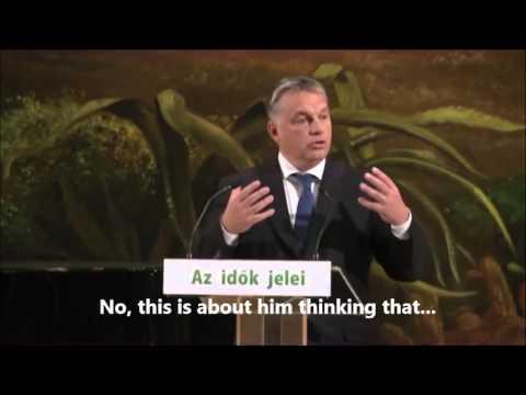 Viktor Orbán Jokes about Austria's