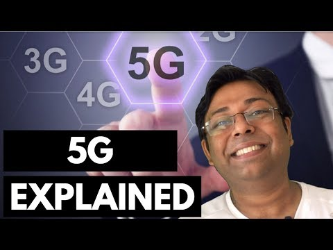 5G Technology explained.Know all about 5G