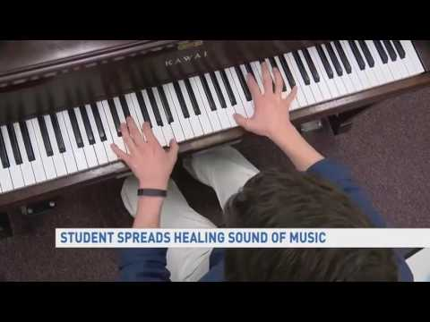 Inspire: Alex Misiaszek spreads healing sound of music