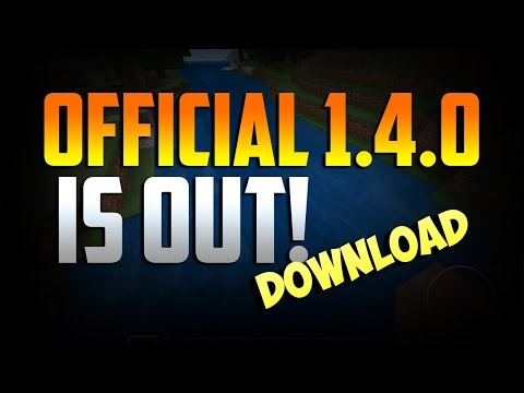 MINECRAFT PE 1.4.0! How To DOWNLOAD for FREE. (Link in description. Read it too.)