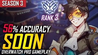 Overwatch ► SoOn | Tracer's Precision (Rank #3 In The World) [S3 TOP 500]