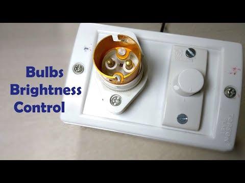 Bulbs Brightness Control Dimmer Switch