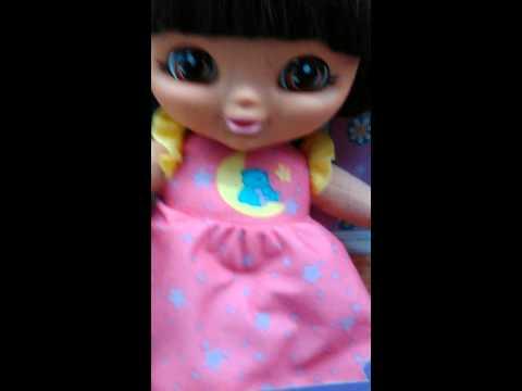 Dora talking to me at Walmart in Fulton NY