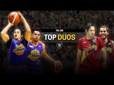 Romeo & Castro? Standhardinger & Fajardo? | PBA Top 12 DUOS 2018 | Partners