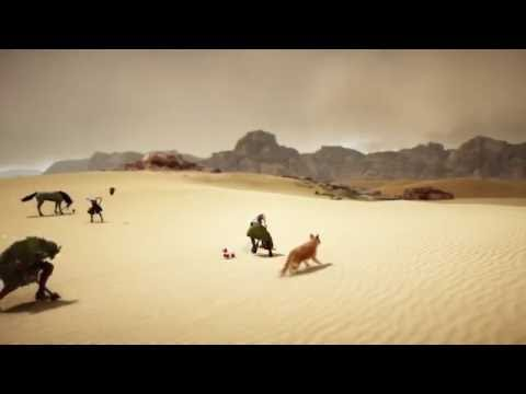 Black Desert Online - How to Gather Sharp and Hard Black Crystal Shards by Digging in the Desert