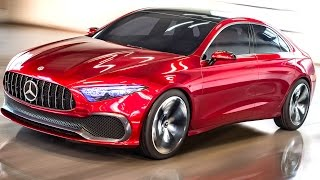 New Mercedes Concept A 2018 First Commercial New Mercedes A : B : C Class Design CARJAM TV HD