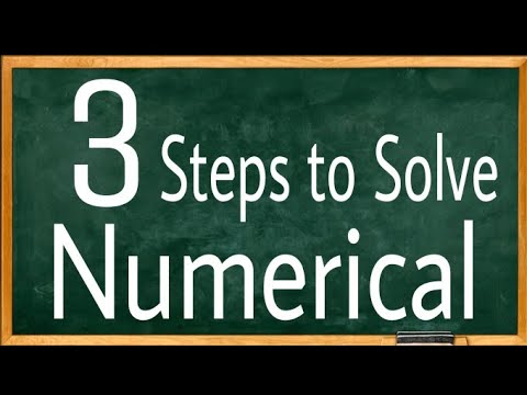 How to Solve Numerical in NEET 2018 physics | NEET 2018 preparation for physics