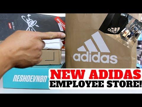 Nuove adidas dipendente del negozio di roba, jzood videostube