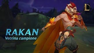 Vetrina campioni di Rakan | Gameplay - League of Legends