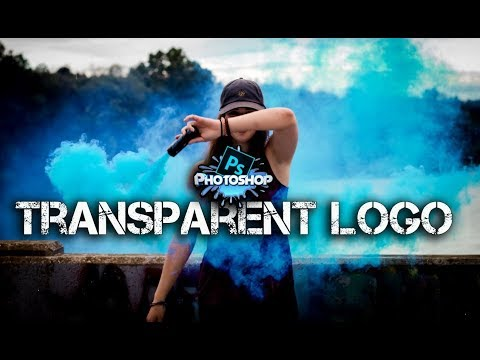 How to Make Logo Transparent in Photoshop CC 2018 ( Fast & Easy )