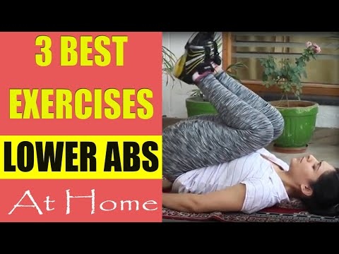 Lower belly fat exercise (Hindi) || Best exercise for flat stomach || निचला पेट करे कम
