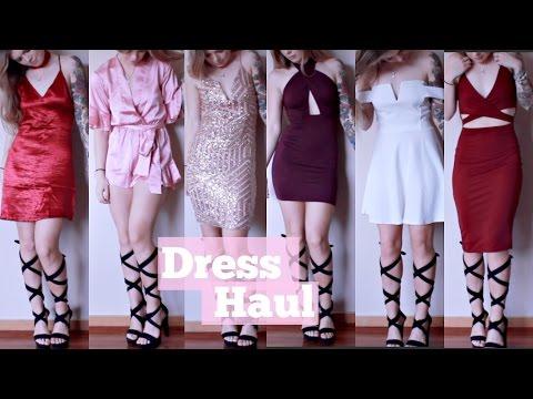 Party Dress Haul | Xenia, Boohoo, PrettyLittleThing ♥