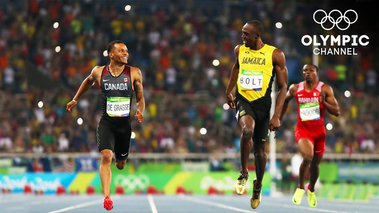 When Usain Bolt and Andre de Grasse smile, the whole world smiles with them | Olympic Memories