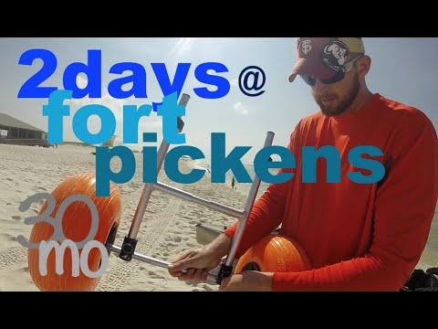 King Mackerel Fishing Fort Pickens - Pensacola Florida
