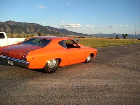1969 Chevelle 1000HP 60mph-0-60mph Burnout