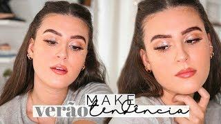 Tutorial: Maquiagem Pro VerÃo - Tendência Efeito Glossy | Lorrine Mondin