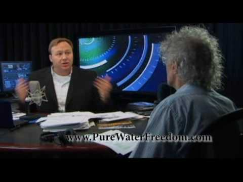 Alex Jones Talks about Toxic Waste Fluoride in our Tap Water Part 1