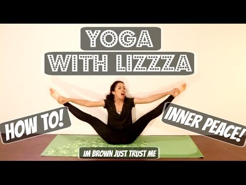 STRETCHING OUT! YOGA WITH LIZZZA! |