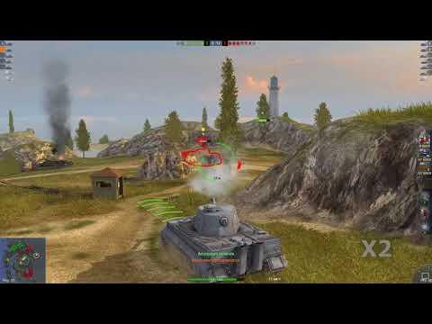 WOT Blitz Мастер на стоковом Tiger1