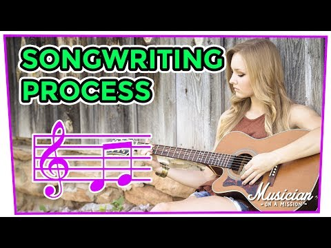 The Songwriting Process: How to Write a Song a Day (Easy) | musicianonamission.com