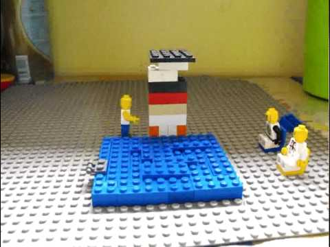 LEGO Sprungbrett Diving Board (Stop-Motion-Movie)
