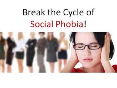 Social Anxiety Disorder Treatment -- Break the Cycle of Social Phobia