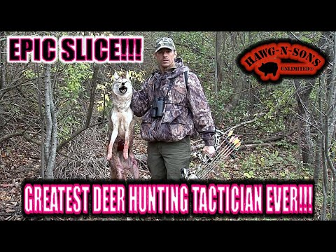 Greatest Whitetail Deer Hunting Tactician Ever Slices Coyote Kill Shot With Arrow