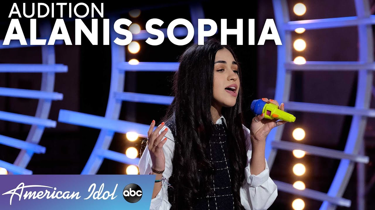 "Authentic And Honest! Alanis Sophia WOWs Judges With ""Anyone"" By Demi Lovato - American Idol 2021"