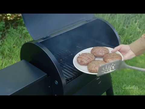 Traeger Bacon Gorgonzola Burgers
