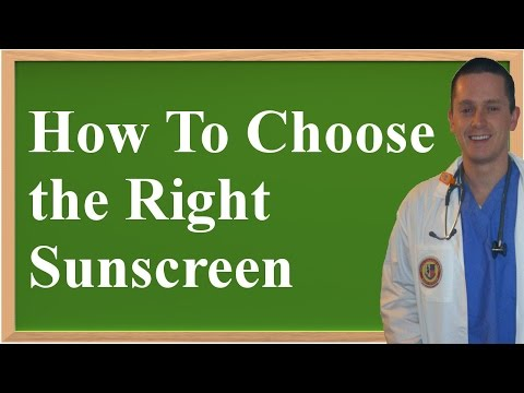 How To Choose the Right Sunscreen (Prevent Skin Cancer and Aging!)